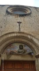 Figueres: pormenor da Igreja do Santo Padre